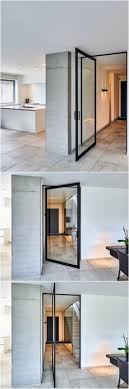 interior home doors 25 modern front door with wood accents home design and interior