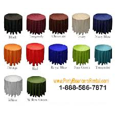 tablecloths rental tablecloths rental covers tables rentals miami broward