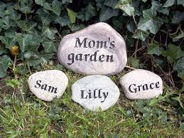 Engraved Garden Rocks Engraved Stones Rock Garden Engraving