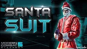 modern combat 5 santa suit youtube