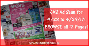 cvs black friday 2017 cvs ad scan for 4 23 to 4 29 17 browse all 12 pages