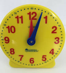 time learning clock big time learning clock student clock learn to tell time
