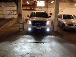 Ford Explorer Headlights - my sport with hid 8000k u0027s page 3 ford explorer and ford ranger
