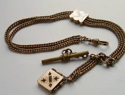 pocket watch chain necklace images Darlor vintage pocket watch fobs and chains jpg