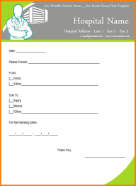 100 free doctors notes templates doctors note templates