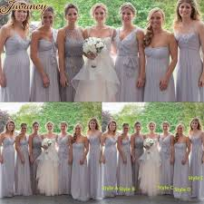 light gray bridesmaid dresses pale gray bridesmaid dresses wedding gallery
