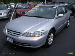 2002 silver honda accord 2002 satin silver metallic honda accord se sedan 10050398