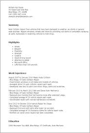 Mechanic Resume Samples by Professional Auto Collision Repair Templates To Showcase Your