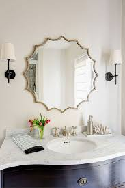 mesmerizing bathroom mirror with lights shelf golden decorative