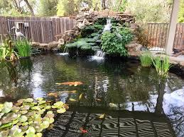 koi pond u0026 waterfall redding land