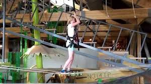 on ropes course at museum of curiosity june 15 2015