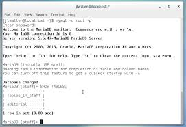 Oracle Create Table Example How To Create And Populate A Database In Mysql Techrepublic