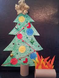 Paper Christmas Tree Crafts For Kids Little Townhome Love Toilet Roll Christmas Crafts For Kids