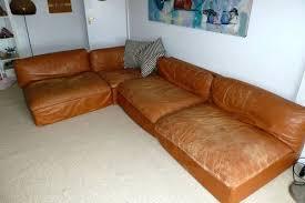 Ebay Sectional Sofa Sectional Vintage Zanotta Leather 70s Sectional Sofa Ebay