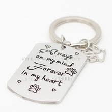 In Memory Of Keychains Popular Pet Memorial Jewelry Buy Cheap Pet Memorial Jewelry Lots