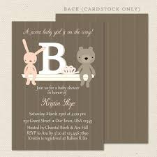 baby shower invitations lil sprout greetings page 2