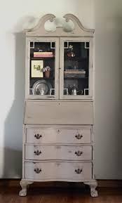 Vintage Desk With Hutch by Sold Vintage Secretary Desk Farmhouse Hutch Kitchen