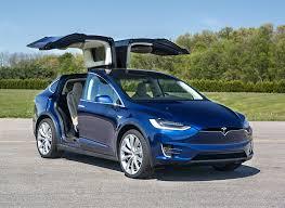 Tesla Carbon Fiber Interior 2017 Tesla Model X First Drive Electric Suv Consumer Reports