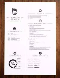 unique resume templates free 12 professional resume templates in word format xdesigns