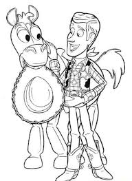 woody coloring woody coloring pages printable toy story woody