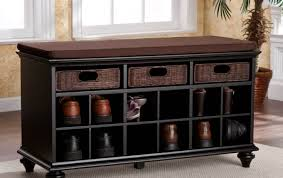 Hidden Storage Shoe Bench Bench Amazing Entryway Shoe Storage Bench And Wall Mount Hutch