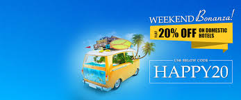 get flat 20 on domestic hotel bookings buy travel deals