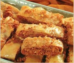 cuisine du maroc choumicha rouleaux feuilletés aux fruits secs facile choumicha cuisine