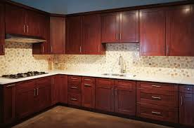 Red Mahogany Kitchen Cabinets Mahogany Shaker Pre Assembled Kitchen Cabinets
