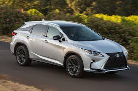 lexus luxury van 2016 lexus rx 350 f sport review plush luxury with useless sport
