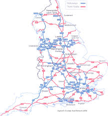 Map England by Road Map England Motorways London Map