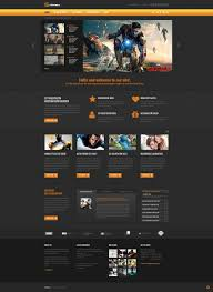 movie responsive joomla template 48962