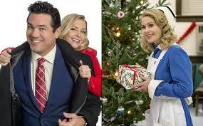 broadcasting christmas u0027 movie dean cain u0026 melissa joan hart