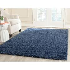 Navy Blue And Beige Area Rugs by Safavieh Milan Shag Navy 4 Ft X 6 Ft Area Rug Sg180 7070 4 The