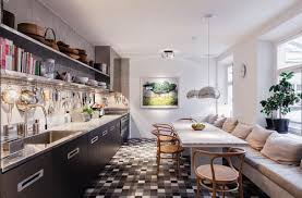 Kitchens With Banquette Seating Kitchen Banquette The Challenge Create Seating For Groups Within