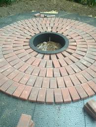 brick for patio popular building a brick patio with best laying pavers ideas on