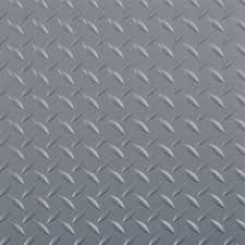 Commercial Grade Vinyl Flooring G Floor 10 Ft X 24 Ft Diamond Tread Commercial Grade Slate Grey