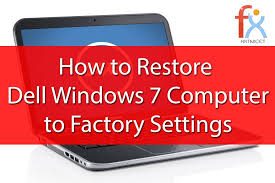 resetting windows password without disk windows 7 factory reset without disk dell youtube