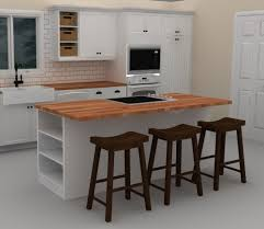 ikea kitchen island ideas kitchen rectangular white polished wooden kitchen island with