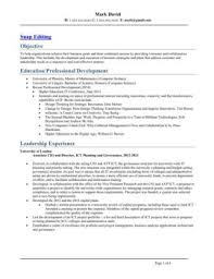 Senior Executive Resume Examples by Snap Editing Fliphtml5