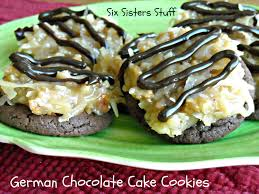german chocolate cake cookies recipe u2013 six sisters u0027 stuff