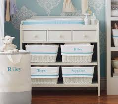 Changing Table Storage Changing Table Pottery Barn