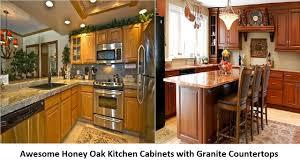 backsplash kitchen countertop cabinets awesome honey oak kitchen awesome honey oak kitchen cabinets granite countertops countertop packages out underneath full size