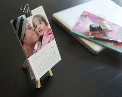 Small Easel Desk Calendar Free Printable 2016 Mini Diy Photo Calendar Great Gift Idea