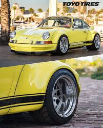 rwb porsche yellow events