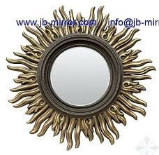 Wood Frames For Bathroom Mirrors Brogan Round Wall Mirror 91 Cm Brogan Round Wall Mirror Exclusive