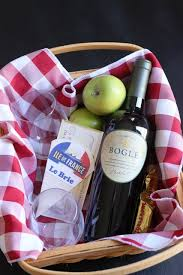 How To Make Gift Baskets How To Make An Easy Wine U0026 Cheese Gift Basket Foodie Gift