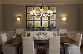 Chandelier Wall Sconce Contemporary Dining Room With Wall Sconce By Tiffany Farha Design