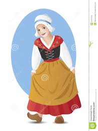 french in national costume royalty free stock photos image