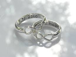 Infinity Wedding Rings by Wedding Bands Infinity Heart Black And White Diamond Engagement