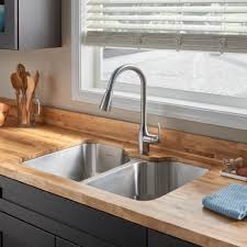American Kitchen Sink Tulsa Stainless Steel Kitchen Sink Kit With Faucet American
